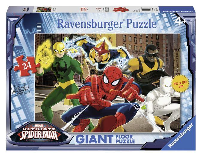 Puzzle omul paianjen 24 piese ravensburger imagine