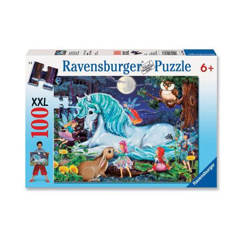 Puzzle calut in padure 100 piese ravensburger