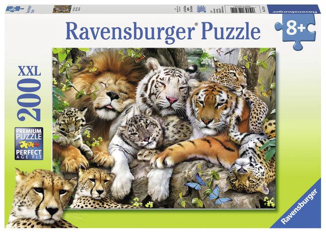 Puzzle tigri 200 piese ravensburger