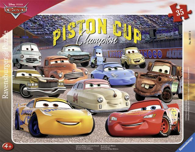 Puzzle cars 35 piese ravensburger imagine