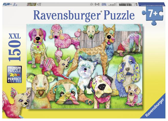 Puzzle catelusi 150 piese ravensburger imagine