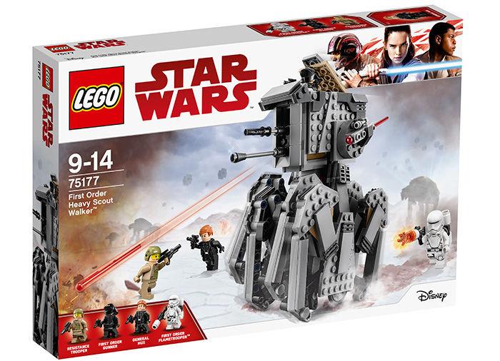 Heavy scott walker al ordinului intai lego star wars imagine