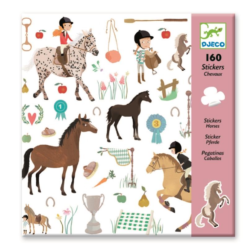 Abtibilduri cu cai djeco imagine