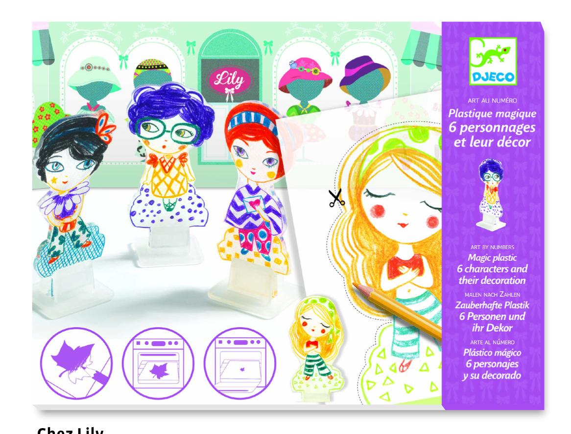 Creeaza figurine magice lily djeco imagine