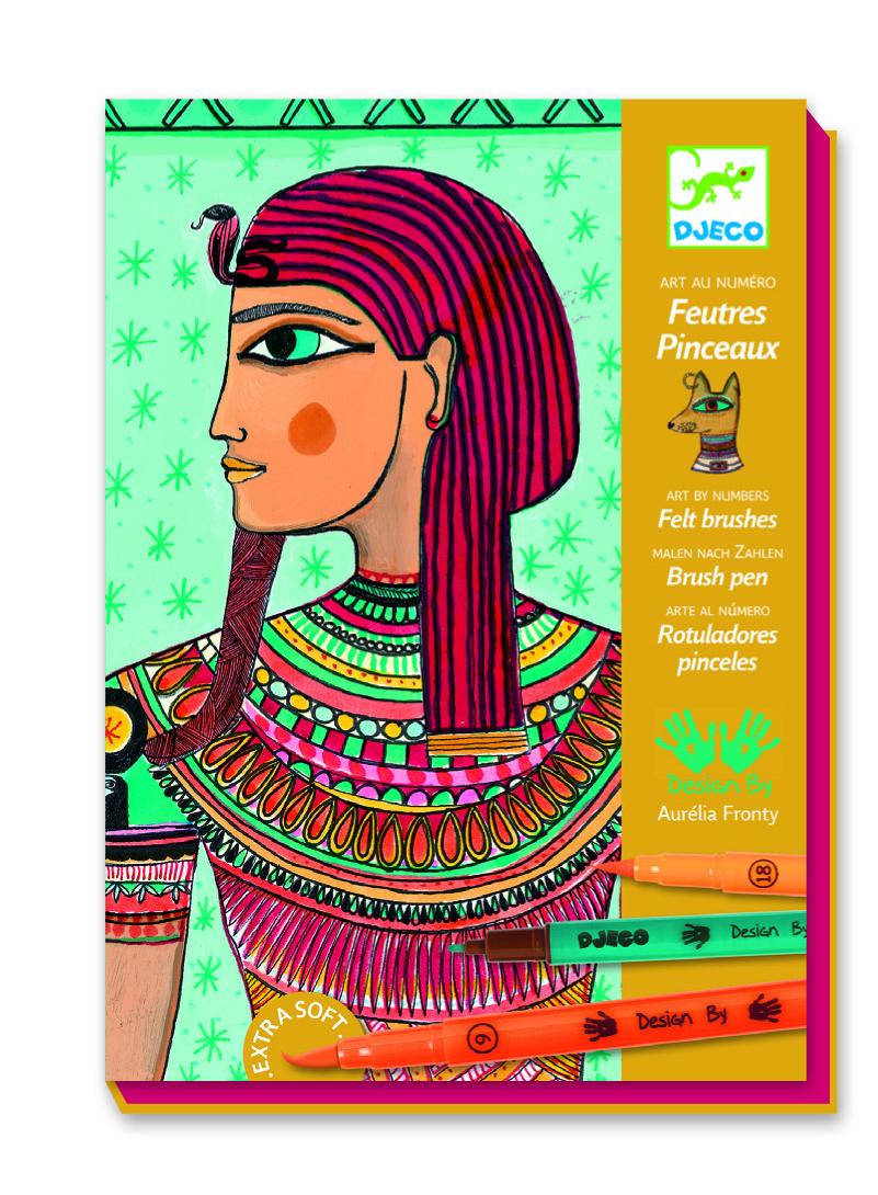 Atelier desen arta egipteana djeco imagine
