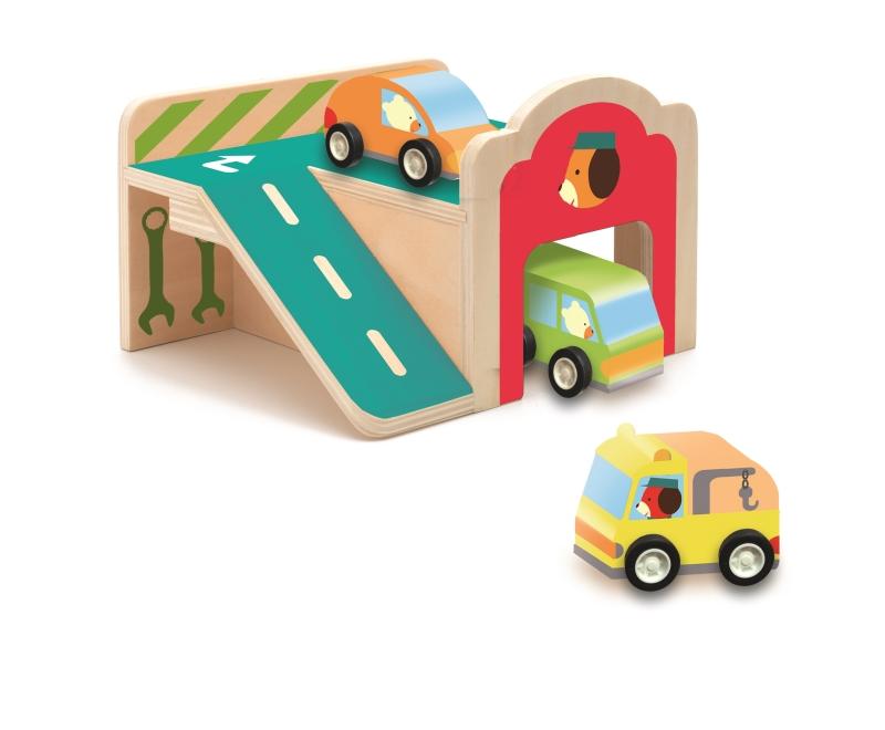 Mini garaj djeco imagine