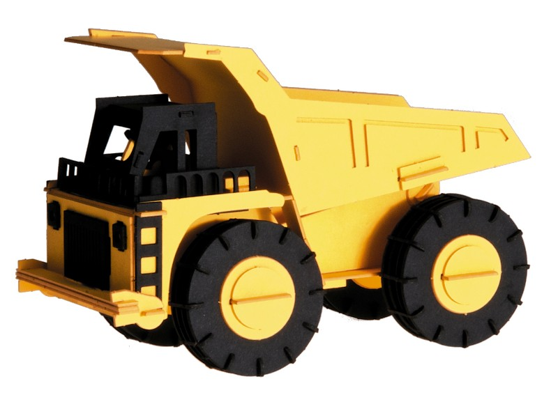 Camion macheta 3d fridolin imagine