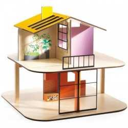 Casa papusii din lemn djeco imagine
