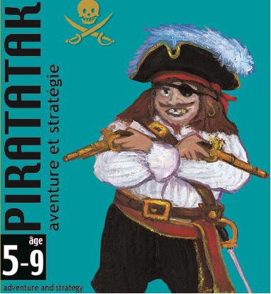 Joc de carti piratatak djeco