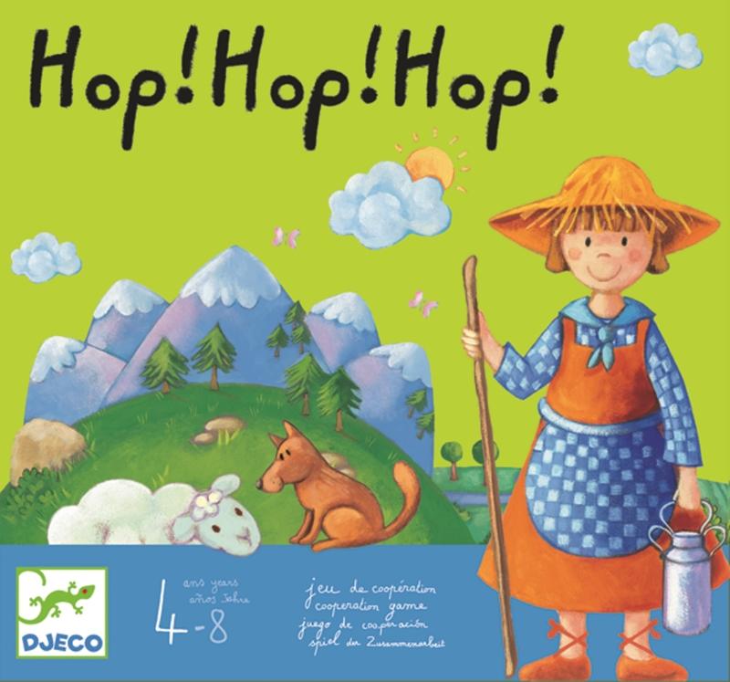 Joc de cooperare hop hop hop! djeco