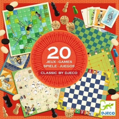 Colectia 20 jocuri clasice djeco