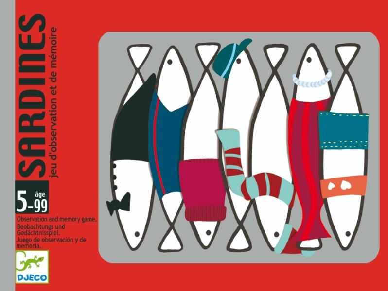Joc de carti sardine djeco