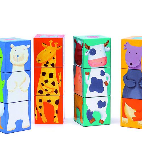 Cuburi animale amuzante djeco imagine