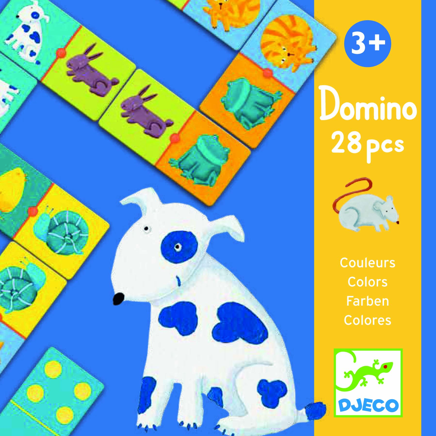 Joc domino animale si culori djeco