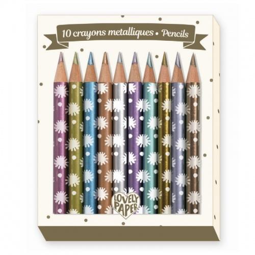 Creioane metalice chichi djeco
