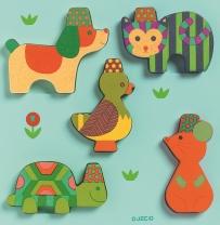 Puzzle lemn yuko djeco imagine
