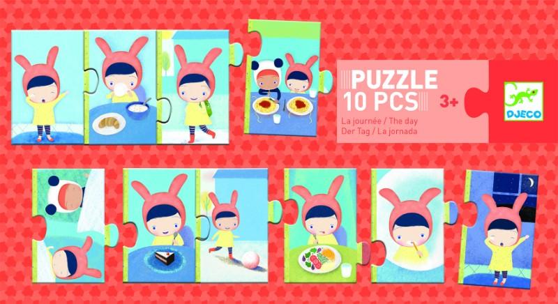 Puzzle trio activitati djeco