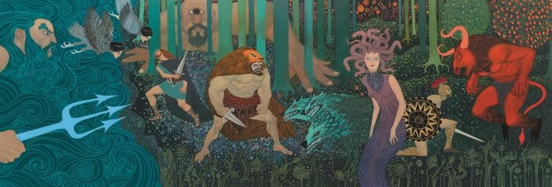 Puzzle mitologie djeco