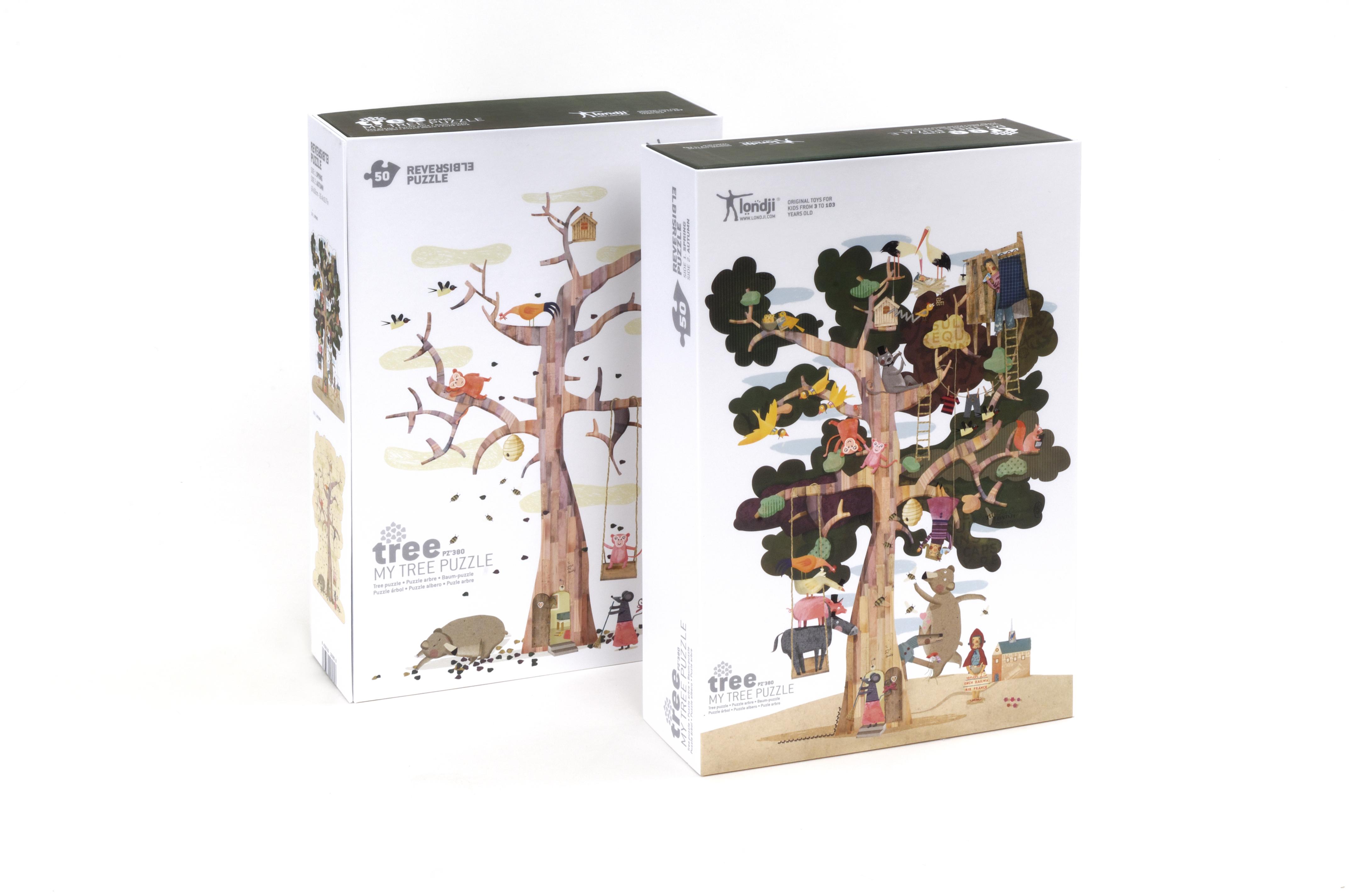 Puzzle gigant copacul meu londji