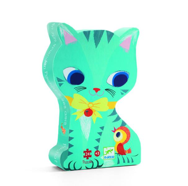 Puzzle pisici jucause djeco