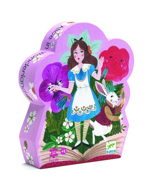 Puzzle alice in tara minunilor djeco