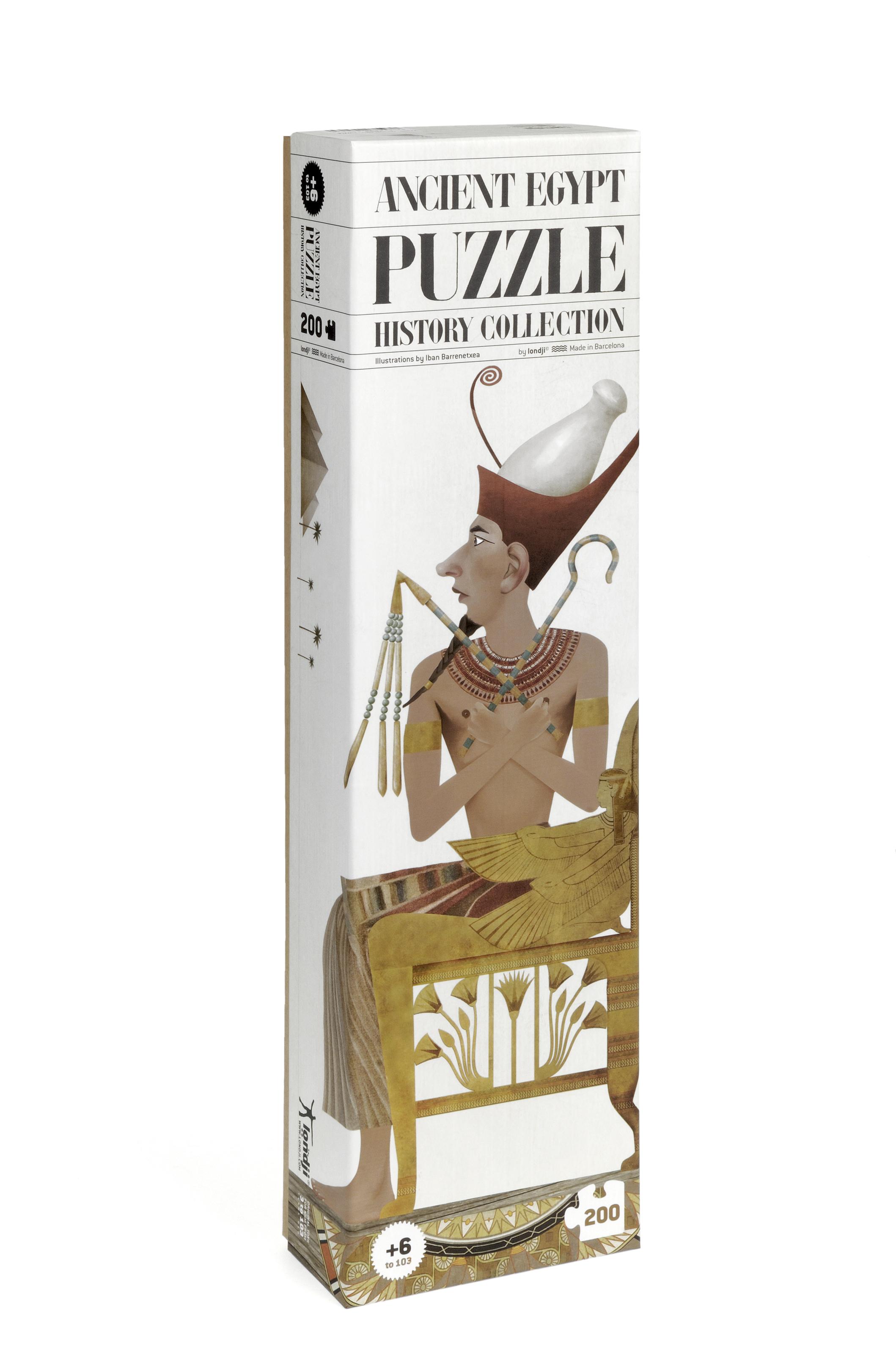 Puzzle egiptul antic londji - 1