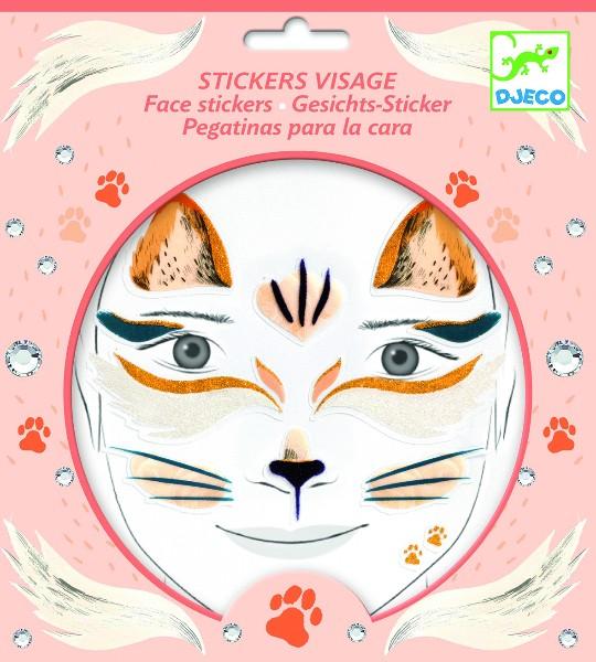 Stickere pentru fata pisica djeco imagine