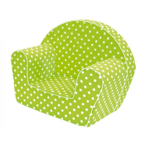 Fotoliu verde pentru copii bino imagine