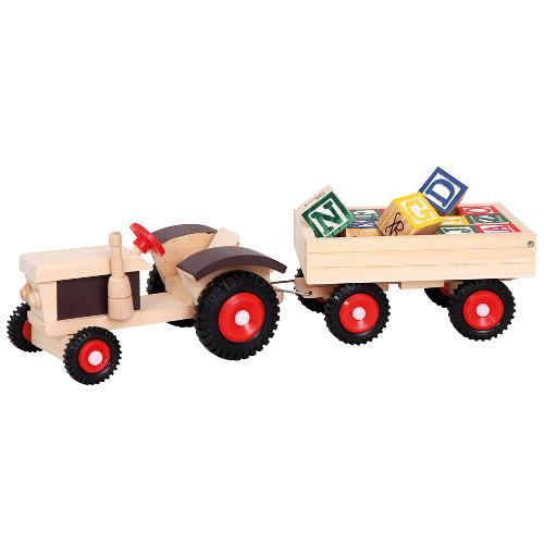 Tractor de lemn bino imagine