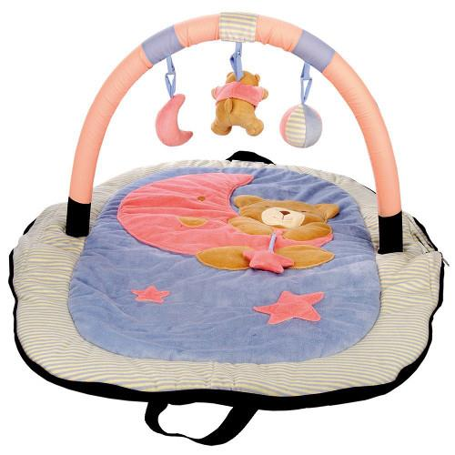 Salteluta de joaca bebelusi bino imagine