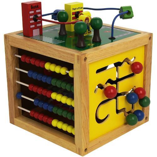 Jucarie de dexteritate cub motric bino imagine