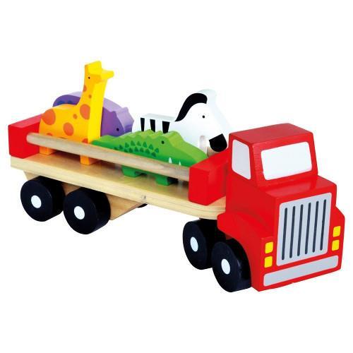 Camion colorat cu animale bino imagine