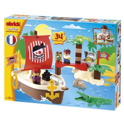 Set constructii comoara piratilor ecoiffier imagine