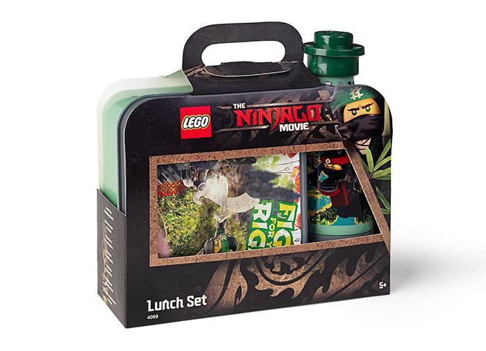 Set pentru pranz lego ninjago movie imagine