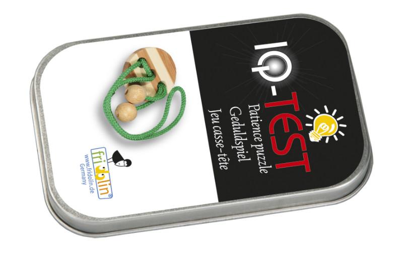 Joc logic iq elibereaza inelul in cutie metalica-1 fridolin - 1