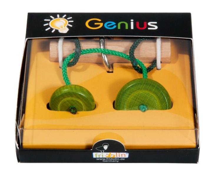 Joc logic iq test genius elibereaza inelul verde fridolin