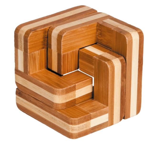 Joc logic iq din lemn bambus scari fridolin