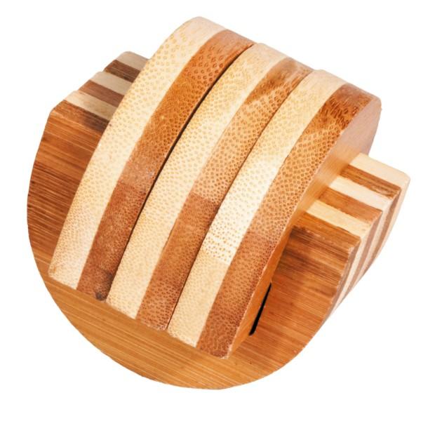 Joc logic iq din lemn bambus cleme fridolin