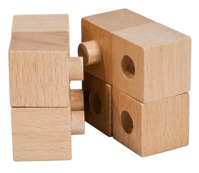 Joc logic iq din lemn-15 fridolin - 1