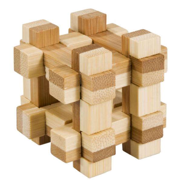 Joc logic iq din lemn bambus in cutie metalica-11 fridolin