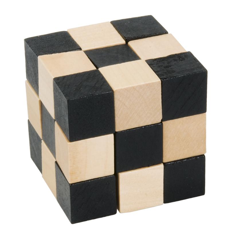 Joc logic cub sarpe negru si bej fridolin