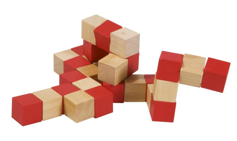 Joc logic cub sarpe rosu si bej fridolin - 2