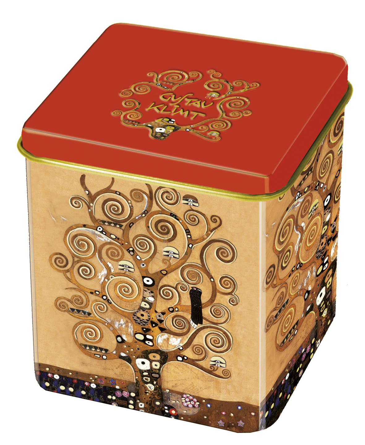 Cutie metalica de ceai tree of life fridolin imagine