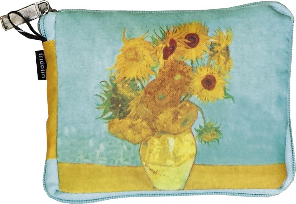 Sacosa textil van gogh sunflowers fridolin imagine