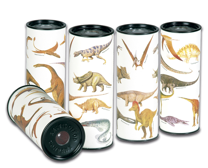 Caleidoscop cu dinozauri fridolin