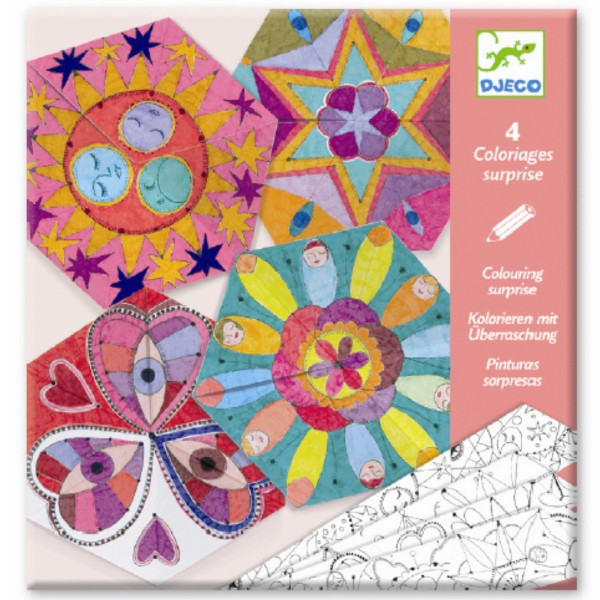 Creeaza krafturi din hartie mandala constelatii djeco imagine