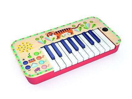 Jucarie muzicala sintetizator djeco imagine