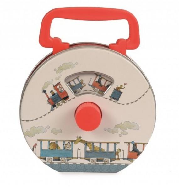 Radio pentru copii cu ilustratii tren egmont toys