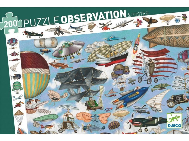 Puzzle aero club djeco