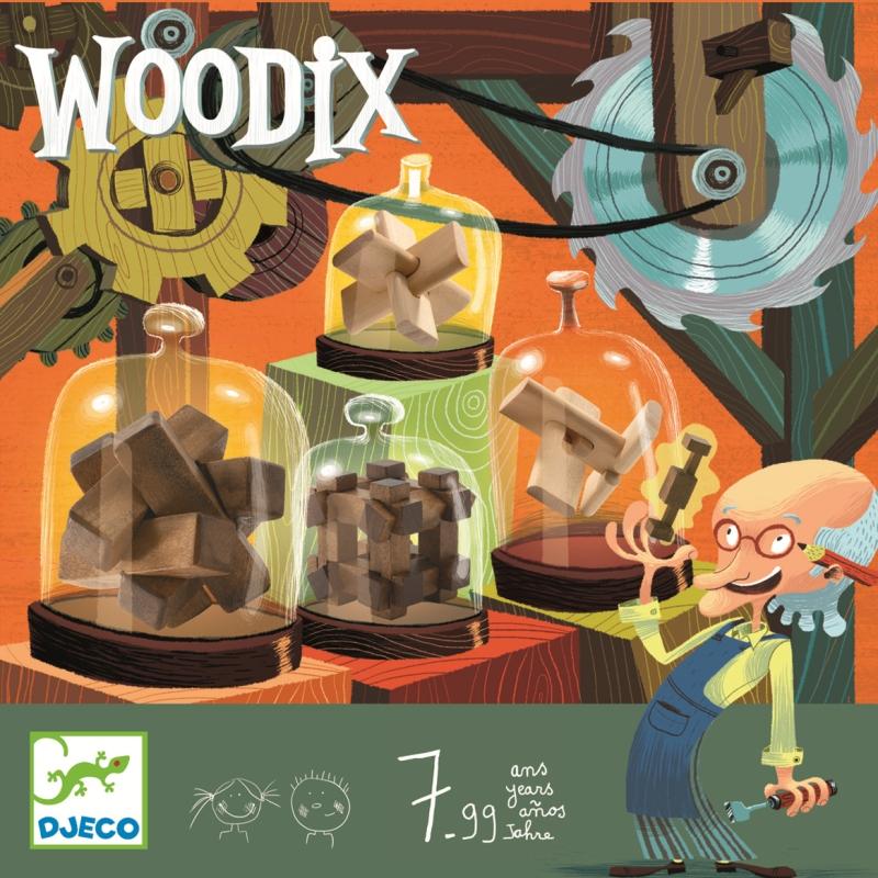 Jocuri logice din lemn woodix djeco